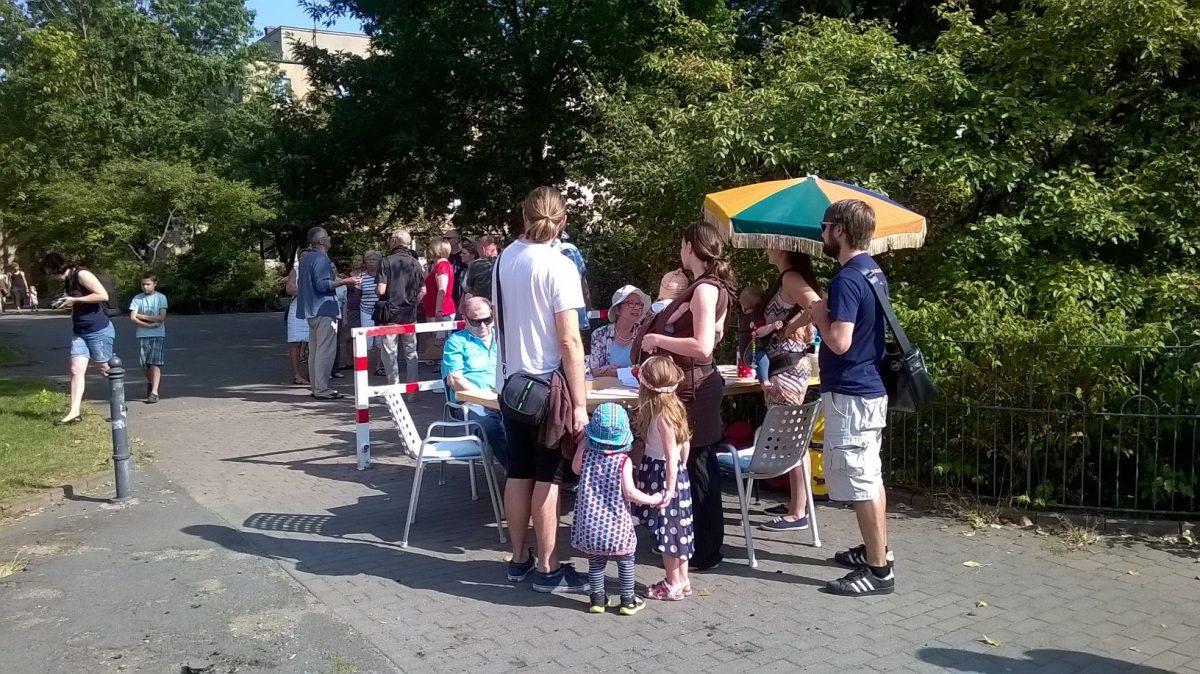 Am 11.09. von 11 bis 14 Uhr fand der Tag des offenen Denkmals auch am Sachsenbad statt
