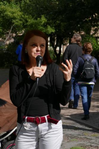 Stadträtin Kati Bischoffsberger (GRÜNE),