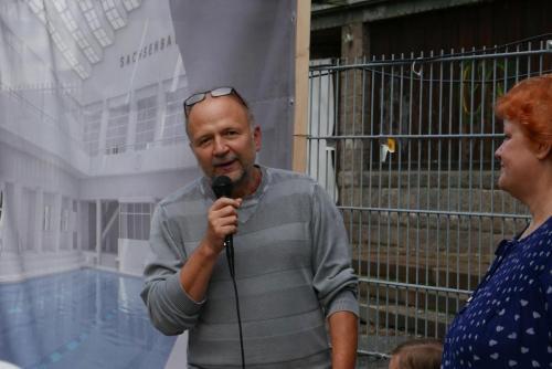 Auch Hr. Kirschner vom Amt für Kultur und Denkmalschutz,