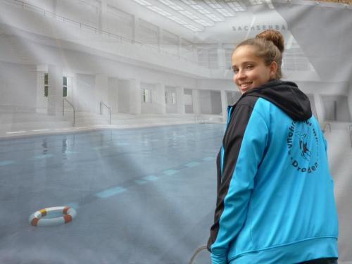 PostSV-Trainerin Synchronschwimmen